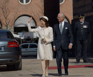 Denmarks de 70ste verjaardag van Koningin Margarethe Stock Afbeeldingen