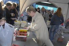 DENMARKS-LESEtag _MS MINISTER MARIANNE JELVED Stockfotografie