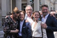 DENMARKS NOWA prima MINITER WITA JEJ rodziny obrazy royalty free