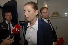 DENMARKSS ÅRLIGA DELSTATSBUDGET 2017 OCH UTÖVER PLAN Royaltyfri Foto