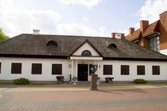 Denmuseum ruskabefälhavaren Alexander Suvorov Kobrin Central Europe Fotografering för Bildbyråer