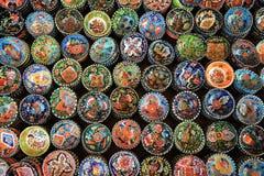 Keramisk souvenir i Turkiet Arkivfoton