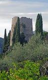Denna är den så kallad gravvalvet av Cicero i Formia Italien Arkivbild