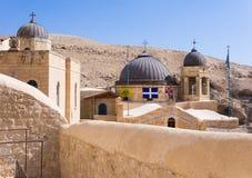 Grekisk kloster i Palestina Royaltyfri Bild