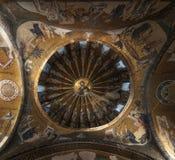 Kupolen beskådar från det Kariye museet, Istanbul Royaltyfri Fotografi