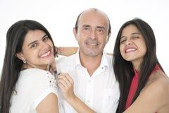 Denna är en lycklig familj Royaltyfri Foto