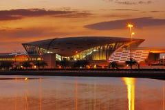 Denna a är en profil av en typisk Dubai tunnelbanastation Royaltyfri Bild