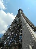 Denna är en sikt av Eiffeltorn i Frankrike, Paris Royaltyfri Bild
