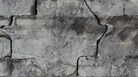 Denna är en vägg som bränner avskräde och har knäckts arkivfoto