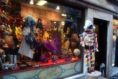 Venedig maskerar Royaltyfri Bild