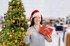Denna är min gåva av jul Arkivbilder