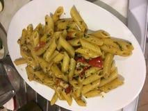 Denna är pasta royaltyfri bild