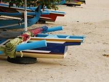 Denna łódź na piasku Zdjęcie Royalty Free