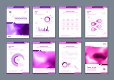 Denna broschyr är det bästa som en affärspresentation som används i marknadsföring och annonsering, reklambladet och banret vektor illustrationer