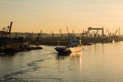 Denna droga od portu Gdynia Fotografia Royalty Free
