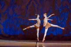 Denna eviga balettsaga Royaltyfria Bilder