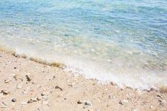 Denna fala plaża Obraz Stock