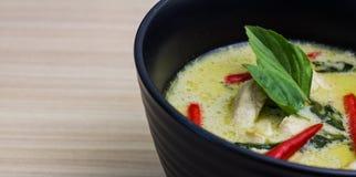 Denna gröna curry Royaltyfri Bild