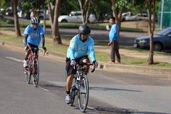 Denna händelse är cykeln för mamma Royaltyfria Foton