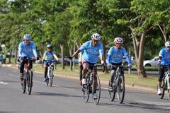 Denna händelse är cykeln för mamma Royaltyfri Foto