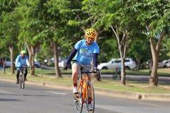Denna händelse är cykeln för mamma Royaltyfri Bild