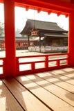 denna itsukushima świątynia Fotografia Royalty Free