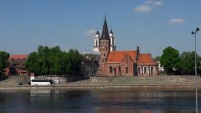 Denna Kaunas gamla stad Fotografering för Bildbyråer