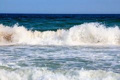 Denna kipiel i kiść na plaży Obrazy Stock