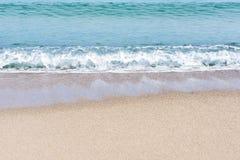 Denna kipiel na plaży zdjęcie royalty free