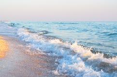 Denna kipiel na plaży obrazy stock