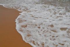 Denna kipiel na plaży Fotografia Royalty Free