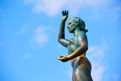 Denna kobieta w Lloret De Mar Mujer Marinera Fotografia Stock