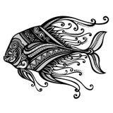 Denna ryba royalty ilustracja