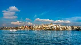 Denna sceneria W Istanbuł, Turcja zdjęcie stock