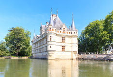 Denna slott byggdes i det XVIth århundradet Royaltyfria Foton