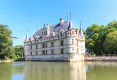 Denna slott byggdes i det XVIth århundradet Arkivbilder
