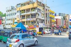 Denna ulica w Kolombo Zdjęcia Stock