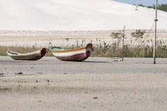 Denna wyspy plaża Fotografia Stock