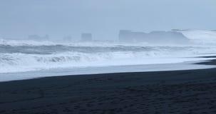 Denne sterty, Vik, Iceland Zdjęcia Stock