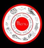 Dennego jedzenia ustalony menu Zdjęcie Stock