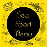 Dennego jedzenia ustalony menu Fotografia Stock