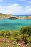 Dennery Bay - Saint Lucia Royalty Free Stock Image