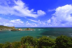 Dennery Bay - Saint Lucia Stock Photography
