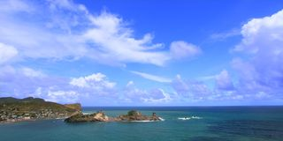 Dennery Bay - Saint Lucia Stock Photography