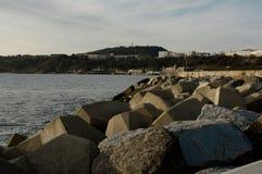 Denni defences na Północnym Dennym wybrzeżu Obrazy Stock