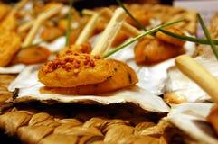 denni karmowi mussels Zdjęcie Royalty Free