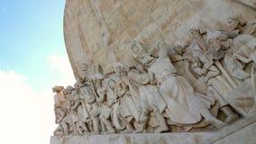 Denni odkrycie pomnikowi w Lisbon Portugalia Obrazy Stock
