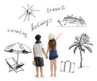 Denni wakacje zdjęcie royalty free