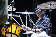 Dennis Chambers live Royalty Free Stock Photos