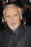 Dennis Hopper. At premiere for his new movie 'The Palermo Shooting' at the 61st Annual International Film Festival de Cannes.  May 24, 2008  Cannes, France Royalty Free Stock Photo